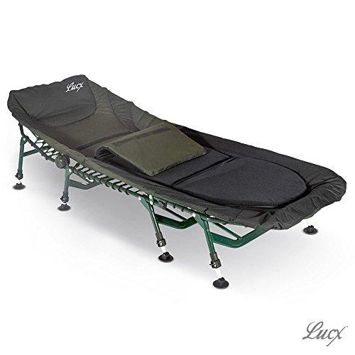 Lucx Bedchair Komfort/Angelliege / Karpfenliege / 8 Beine...
