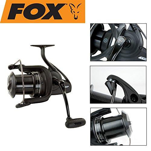 Fox FX13 Reel Rolle zum Karpfenangeln, Angelrolle für...